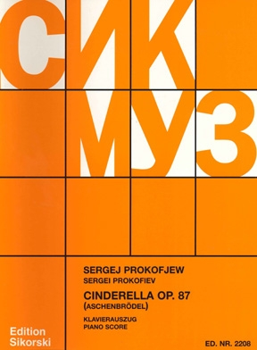 Product Cover for Cinderella, Op. 87