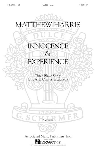 Matthew Harris – Innocence & Experience - Three Blake Songs