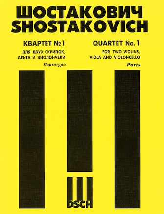 Product Cover for String Quartet No. 1, Op. 49