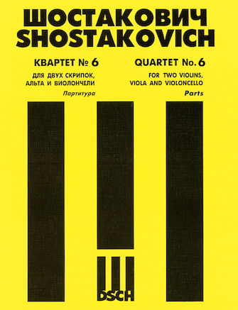 Product Cover for String Quartet No. 6, Op. 101