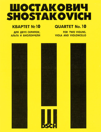 Product Cover for String Quartet No. 10, Op. 118