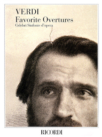 Product Cover for Verdi Favorite Overtures