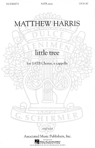 Product Cover for little tree (from Chansons Innocentes)