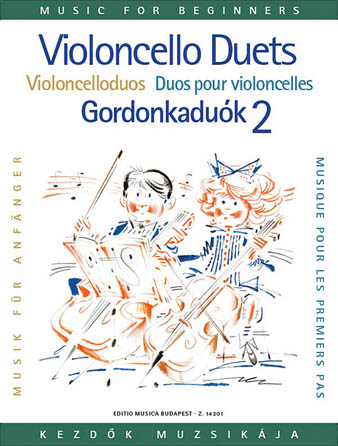 Product Cover for Violoncello Duos for Beginners – Volume 2