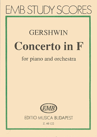 Product Cover for Concerto in F for Piano and Orchestra