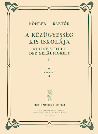 Product Cover for Little School of Velocity, Op. 242 – Volume 1