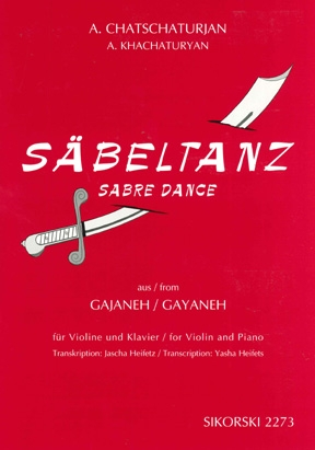 Product Cover for Aram Khachaturian – Sabre Dance
