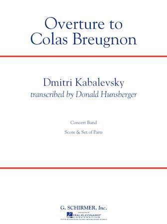 "Product Cover for Overture to ""Colas Breugnon"""