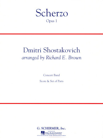 Product Cover for Scherzo, Op. 1