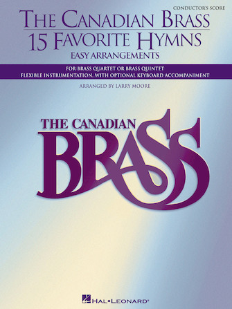 Product Cover for The Canadian Brass – 15 Favorite Hymns – Conductor's Score