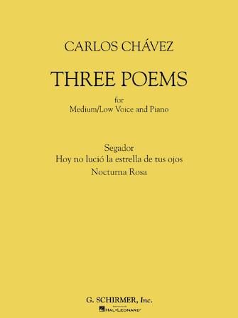 Product Cover for Three Poems