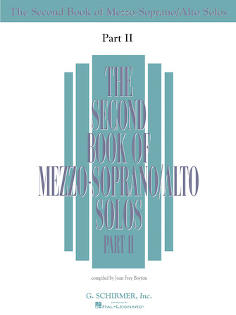Product Cover for The Second Book of Mezzo-Soprano Solos Part II