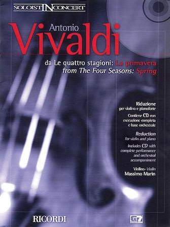 """Concerto in E Major """"La Primavera"""" (Spring) from The Four Seasons RV269, Op.8 No.1"""
