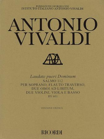 Product Cover for Laudate pueri Dominum RV601