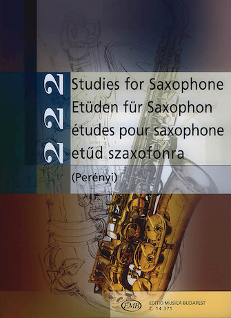 Product Cover for 222 Studies for Saxophone