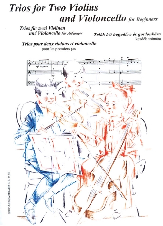 Product Cover for Trios for Two Violins and Violoncello for Beginners