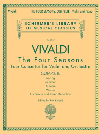 Product Cover for Antonio Vivaldi – The Four Seasons, Complete