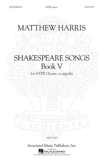 Product Cover for Shakespeare Songs, Book V