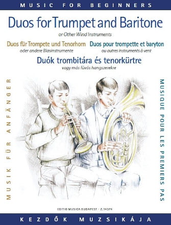 Product Cover for Duos for Trumpet and Baritone (or Trombone)