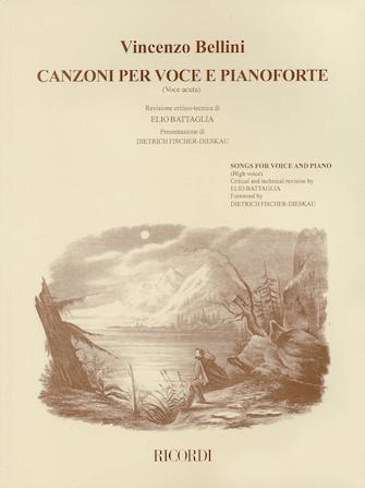 Product Cover for Vincenzo Bellini – Canzoni Per Voce