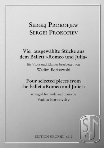 Product Cover for Sergei Prokofiev – Four Selected Pieces from the Ballet Romeo and Juliet
