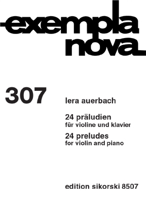 Product Cover for 24 Preludes for Violin and Piano