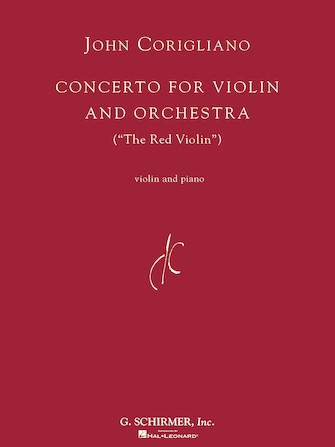 "Product Cover for Concerto for Violin and Orchestra (""The Red Violin"")"