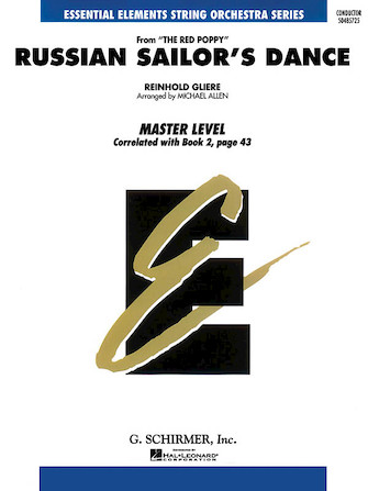 Product Cover for Russian Sailor's Dance - Ee String Series (master) - Score Only