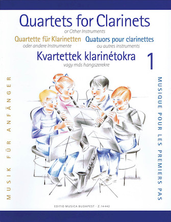 Product Cover for Clarinet Quartets for Beginners – Volume 1