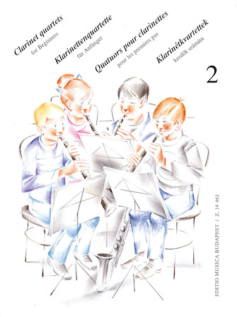 Product Cover for Clarinet Quartets for Beginners – Volume 2