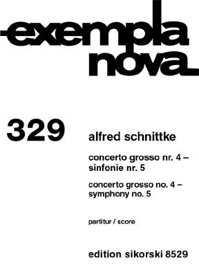 Product Cover for Concerto Grosso No. 4 & Symphony No. 5