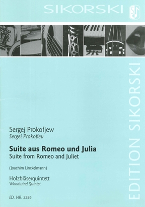 Product Cover for Suite from Romeo and Juliet