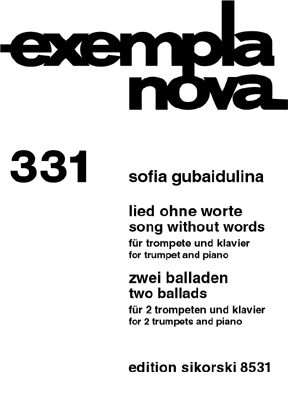 Product Cover for Song Without Words & Two Ballads