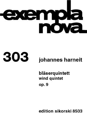 Wind Quintet, Op. 9