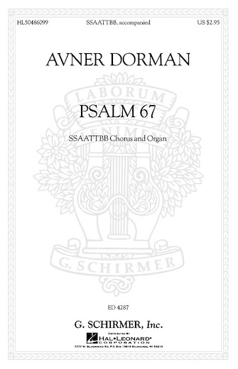 Product Cover for Psalm 67