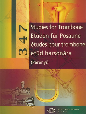 Product Cover for 347 Studies for Trombone
