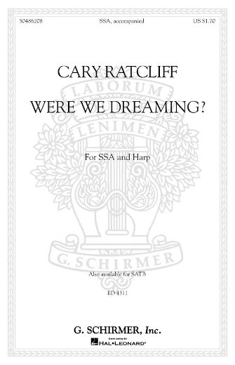 Product Cover for Were We Dreaming?