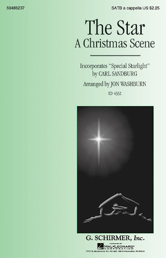 The Star (A Christmas Scene) : SATB : Jon Washburn : Sheet Music : 50486237 : 884088067021 : 142341098X