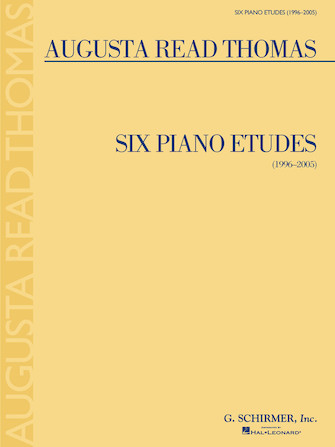 Product Cover for 6 Piano Etudes (1996-2005)