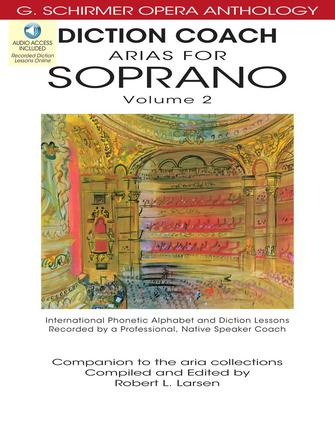 Product Cover for Diction Coach – G. Schirmer Opera Anthology (Arias for Soprano Volume 2)