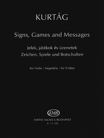 Product Cover for Signs, Games and Messages for Violin