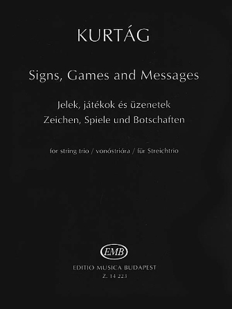 Product Cover for Signs, Games and Messages for String Trio