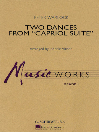 """Product Cover for Two Dances from """"Capriol Suite"""""""