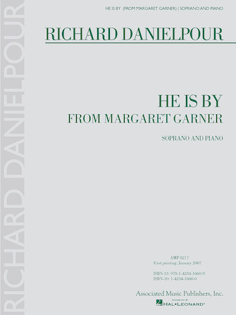 Product Cover for He Is By from Margaret Garner