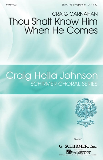 Product Cover for Thou Shalt Know Him When He Comes