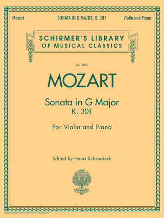 Product Cover for Sonata in G Major, K301