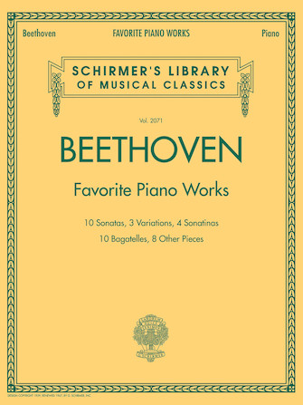 Product Cover for Beethoven – Favorite Piano Works