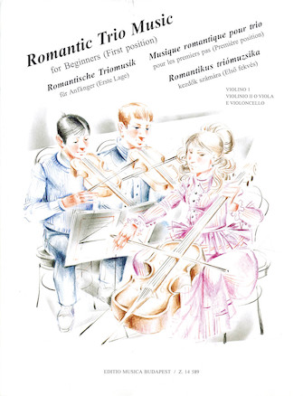 Product Cover for Romantic Trio Music for Beginners – First Position