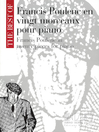 Product Cover for The Best of Francis Poulenc in Twenty Pieces for Piano