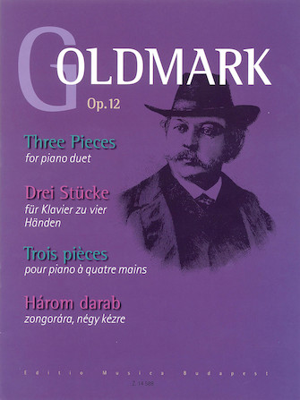 Product Cover for 3 Pieces Op. 12